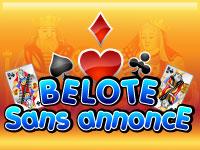 Belote w/o declarations